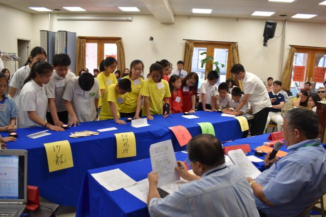 第12屆「聯成盃」青少年中華文化常識問答比賽主辦方表示,新移民改變人口結構,讓中文學習出現斷層。(記者顏嘉瑩╱攝影)
