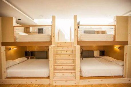 舊金山膠囊旅館一張床每晚收費60元。(Podshare提供)