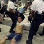 〈圖輯〉香港「反送中」 10日凌晨警方強力清場
