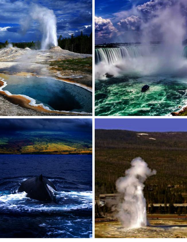 享有盛名的黃石公園、壯觀的尼亞加拉大瀑布和熱帶風情的夏威夷全都是令人嚮往的旅遊勝地。