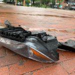 華人瑪莎拉蒂追撞公車 車頭全毀數人傷