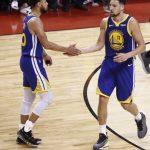 NBA/「水花兄弟」飆外線 勇士1分險勝暴龍