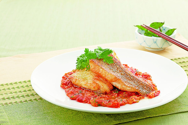 香煎石斑魚。(圖:天和鮮物提供)