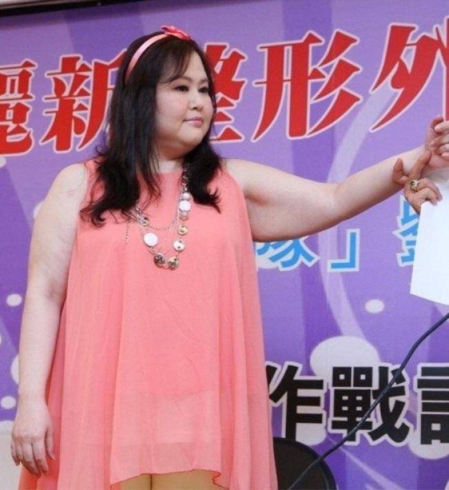 劉聖心體重曾一度破百,後瘦身成功。圖/聯合報系資料照