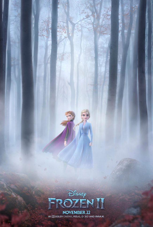 「冰雪奇緣2」最新海報突顯兩姊妹聯手面對新的挑戰。圖/摘自EW