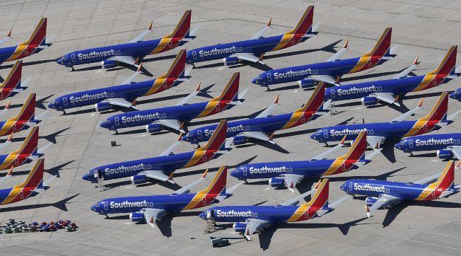 波音737 Max將停飛多久?沒有人確切知道。(Getty Images)