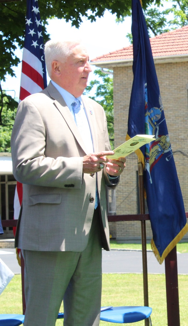 John Dolan接任纽约军校校长。(记者刘大琪/摄影)