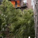 8大道公寓火災 華男拔插頭手臂燒傷
