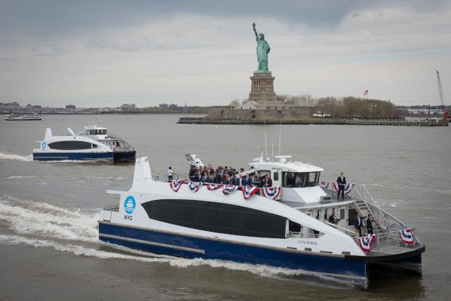 瓦隆促市府在法拉盛設「紐約市渡輪」新站點。(本報檔案照)