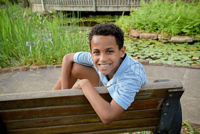 疑似遭到錯殺的11歲男童卡麥倫。(Go Fund Me網站)