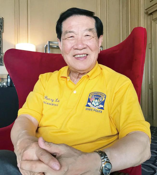 全球知名科學鑑識專家李昌鈺已飛抵舊金山,為地檢長華裔候選人湯曉慧站台。(記者李秀蘭/攝影)