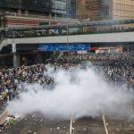 〈圖輯〉反送中爆衝突 港警清場後 香港宛如死城