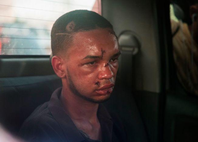 其中一名嫌犯被警方拘留前,遭到俱樂部的一些群眾痛毆,這名嫌犯稍後被指認出是賈西亞(Eddy Feliz Garcia,圖)。Getty Images