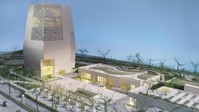 歐巴馬總統中心將蓋在芝加哥南區傑克遜公園。 (Obama Foundation)