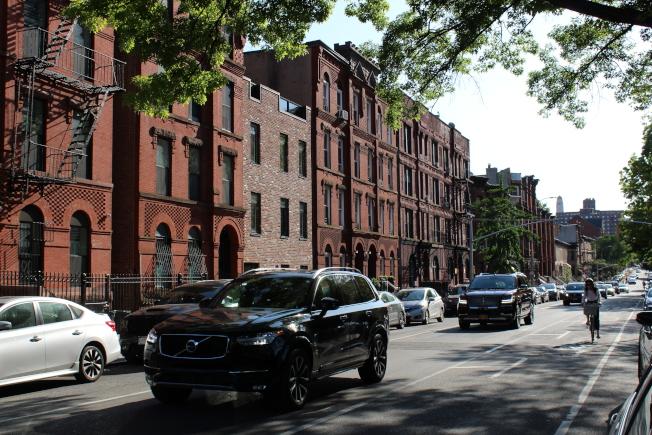 Classon大道站周圍一房租金中位數過去一年漲幅13.2%。(記者劉大琪/攝影)