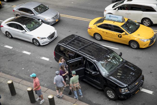 新規未來將要求網約車公司將空置時間比率降低到31%。(本報檔案照)