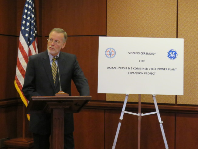 美國在台協會台北辦事處處長酈英傑11日在華府表示,美方期盼在台灣能源轉型過程中與台合作。(華盛頓記者張加/攝影)
