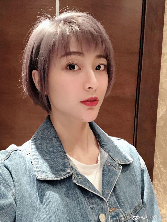 29歲女星夏沫僑。(取材自微博)