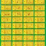 熊貓紀念金鈔大全 波士頓首發 耗用999黃金85.3克 全球絕版限量發行300套