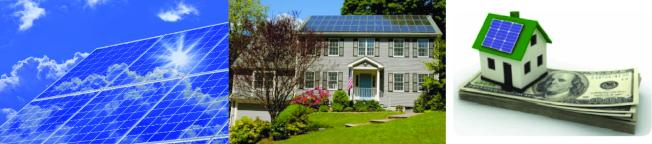 :   Amergy Solar太陽能公司代客申請零首付、零風險的免費安裝太陽能板,政府買單。