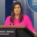 川普推文宣布 白宮發言人桑德斯將離任