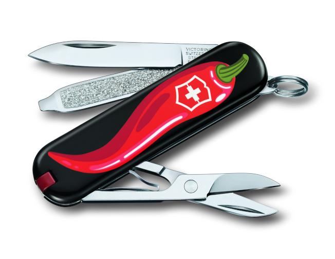 設計來自義大利的Sebastiano,靈感源自味道火辣的紅椒!(圖:Victorinox提供)