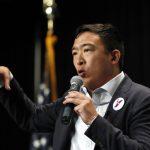 民主黨總統初選20人名單出爐 華裔楊安澤入列