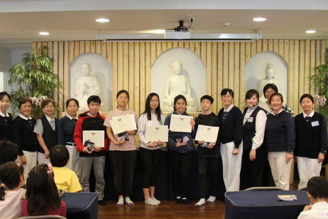 西雅圖慈濟少年團 5人獲頒總統志工服務獎