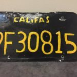 加州變「Califas」 毒蟲自製假車牌遭逮