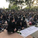 北加州香港會挺港人 集會聲援反送中