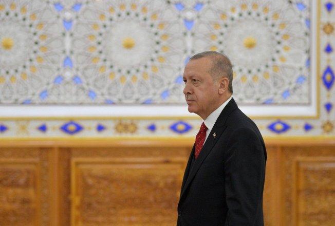 土耳其總統厄多安。 歐新社