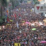 〈圖輯〉反送中百萬港人再次怒吼 鏡頭下的焦慮與盼望