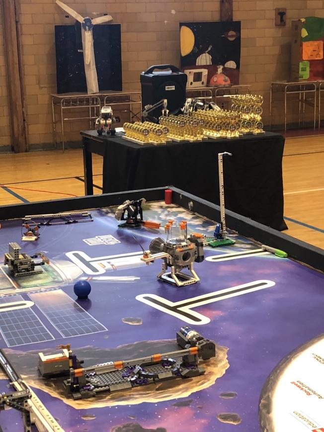 「開拓火星」機器人大賽考驗24組、近200名學生的創作力。(Peter Xanthous提供)