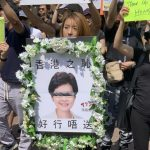 聲援香港「反送中」 華埠再遊行