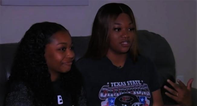 非裔女大學生布萊克妮表示自己日前在餐廳用餐時,遭到餐廳人員種族歧視,並將她趕離餐廳。(KPRC電視台)