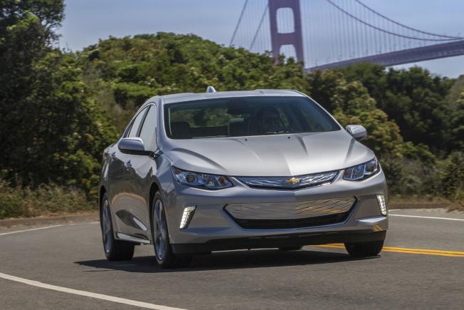 通用汽車在去年秋天宣布將逐步淘汰插電式混合動力雪佛蘭Volt。(美聯社)
