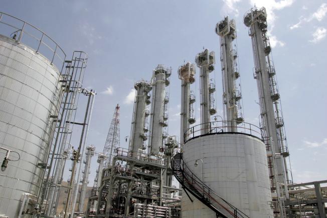 圖為伊朗 一處核電廠。 (Getty Images)