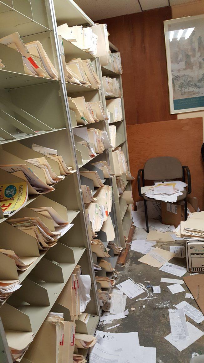 蔡德彰被搜查的辦公室。(紐約市特別毒品檢察官辦公室提供)