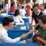 聖巴拿馬醫學中心華人健康日  慈濟人任志工