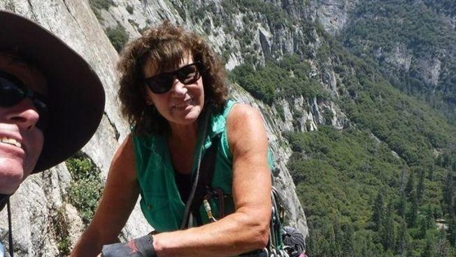 加州傳奇攀岩者史度普絲(Patricis Stoops),日前在優勝美地攀岩時喪生。(取自推特)