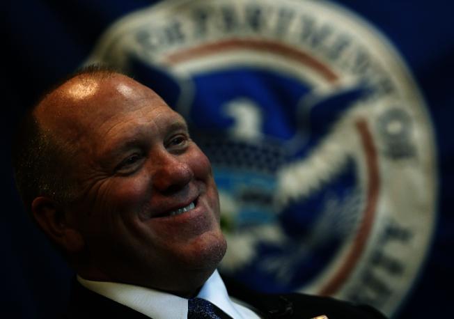 代理ICE局長證實接到川普總統命令,但執行細節有待研商。(美聯社)