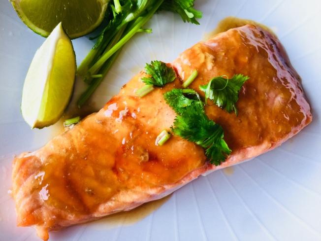照燒烤鮭魚