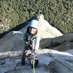 美10歲女童攻頂酋長岩 打破最年輕攀岩者紀錄