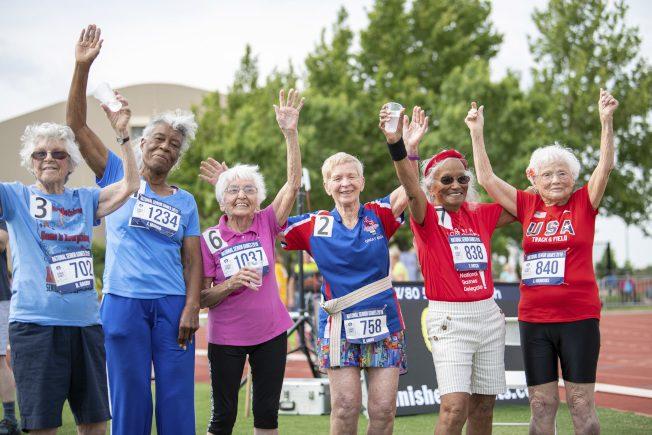 103歲「颶風」奶奶 創百歲短跑世界紀錄