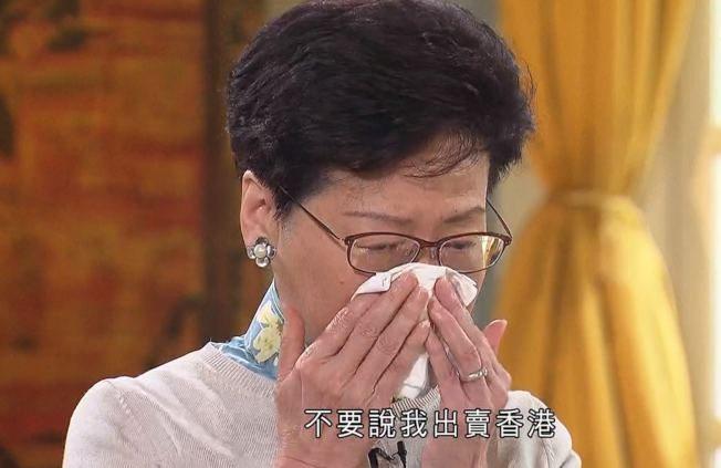新聞眼/林鄭的眼淚 不如許志安