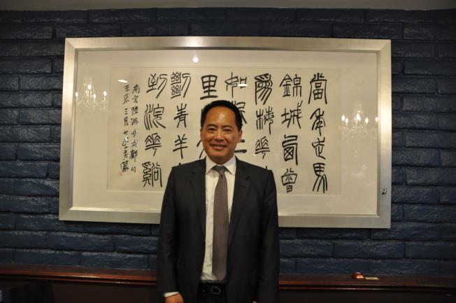 中國信託商業銀行北美事業處資深副總經理劉建虹表示,中國信託以新移民為主要服務對象。(記者王若然/攝影)