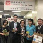 助申請食物券 華埠義工受表揚