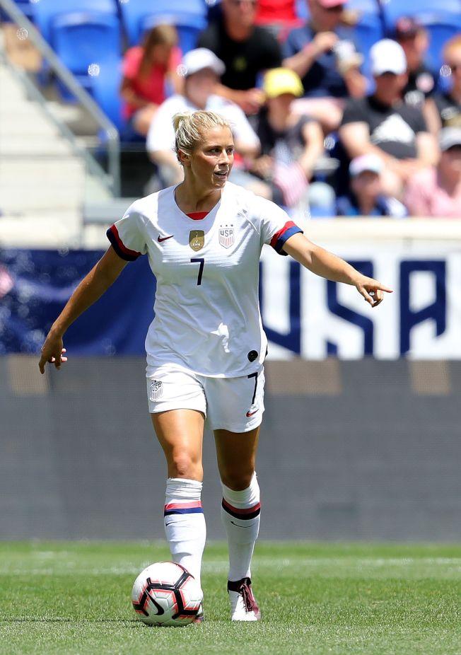 對上瑞典,美國女足將全力取勝,圖為美國後衛達卡佩。(Getty Images)