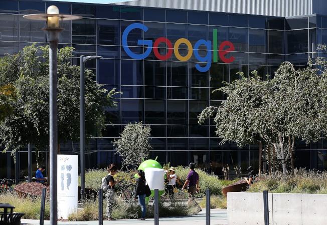 Google 19日召開年度股東大會,分拆Google的提案遭到否決。(Getty Images)