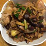 料理功夫|黑香菇燒四分雞腿